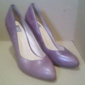 Dolce Vita Shoes - Purple Leather Dolce Vita 'Reza' Heels